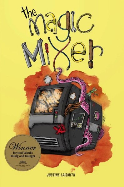 The Magic Mixer Book cover1